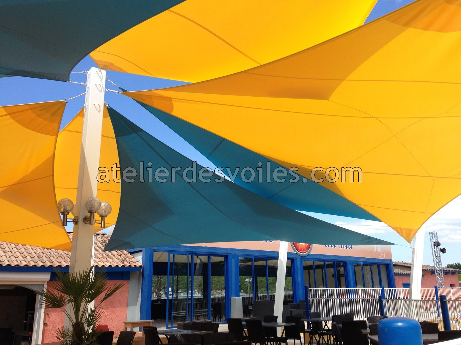 voile solaire toile d ombrage professionnel 02 atelier des voiles. Black Bedroom Furniture Sets. Home Design Ideas